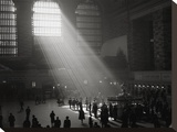 Sunbeams Shining into Grand Central Station  NYC