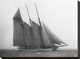 The Schooner Karina at Sail  1919