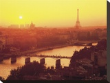 Paris Sunrise Over the Seine