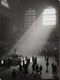 Sunbeams Streaming into Grand Central Station  NYC