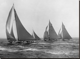 Sloops at Sail  1915
