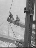 Workers Sitting on Steel Beam  1926