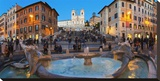 Piazza di Spagna at night  Rome