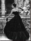 Black Evening Dress  Roma 1952