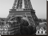 Eiffel Tower and Apartment Buildings