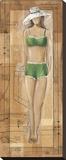 Green Pattern Girl
