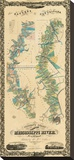Chart of The Lower Mississippi River  c1858