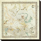 Celestial Anno 1830: No 5 Circumjacent the North Pole  c1844