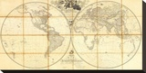 Map of the World  Researches of Capt James Cook  c1808