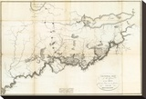 General Map of the Course of the Ohio  c1796