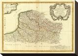 Flandre francoise  Artois  Picardie  Boulenois  c1785