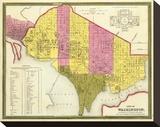 City of Washington  DC  c1846