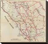 California: Sonoma  Marin  Lake  and Napa Counties  c1896