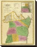 New York: Albany  Schenectady Counties  c1829