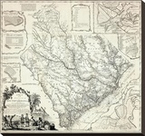 Map of the Province of South Carolina  c1773