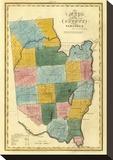 New York  Saratoga County  c1829