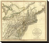 New York  Vermont  New Hampshire  c1806