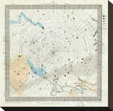 Celestial Anno 1830: No 6 Circumjacent the South Pole  c1844
