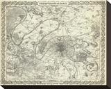 The Environs of Paris  c1856