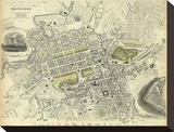 Edinburgh  Scotland  c1834