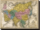 Map of Asia  c1839