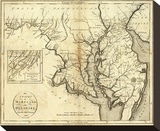 States of Maryland and Delaware  c1796