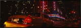Car on a Road  Radio City Music Hall  Rockefeller Center  Manhattan  New York  USA
