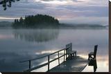 Misty Morning Dock