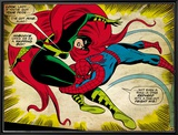 Marvel Comics Retro: The Amazing Spider-Man Comic Panel  Medusa (aged)