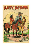 Archie Comics Retro: Katy Keene Cowgirl Pin-Up with KO Kelly (Aged)