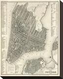 New York  Plan  c1844