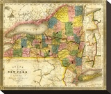 State of New York  c1840