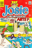 Archie Comics Retro: Josie and The Pussycats Comic Book Cover No45 (Aged)