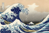 La grande vague de Kanagawa, 1830-1831 œuvre par Hokusai