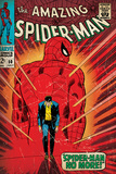 Marvel Comics Retro: The Amazing Spider-Man Comic Book Cover 50  Spider-Man No More! (aged)
