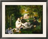 Dejeuner Sur L'Herbe (Luncheon on the Grass)  1863