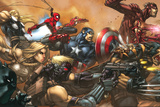 Ultimates 3 Cover: Captain America