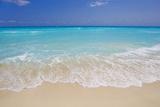 White sand beach in Cancun