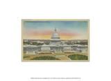 Capitol Panoramic  Washington  DC