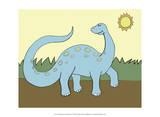 Prehistoric Playtime IV Reproduction d'art par Pam Ilosky