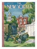 The New Yorker Cover - July 27  1946