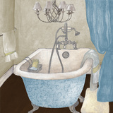 Blue Guest Bathroom I