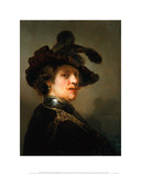 Tronie of a Man with a Feathered Beret  ca 16351640