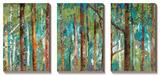 Allée forestière Tableau multi toiles par Caroline Gold