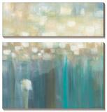 Aqua Light Tableau multi toiles par Karen Lorena Parker