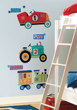 Transportation Giant Peel & Stick Wall Decals