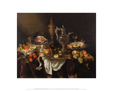 Banquet Still Life  after 1655