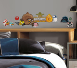 Angry Birds Star Wars Peel &amp; Stick Wall Decals
