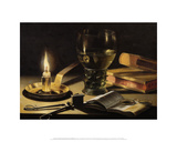 Still Life with a Lighted Candle  1627