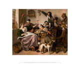 """As the Old Sing  So Twitter the Young "" ca 1668–1670"
